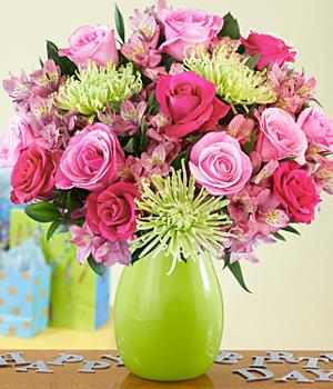 送鲜花,送祝福!
