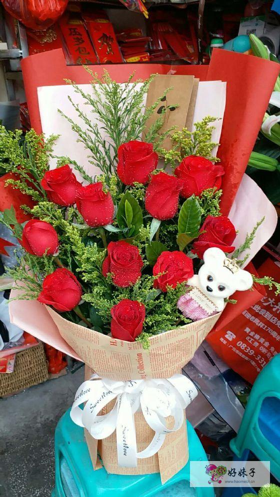 旺苍县鲜花店送花上门,旺苍县玫瑰花预定鲜花速递到家